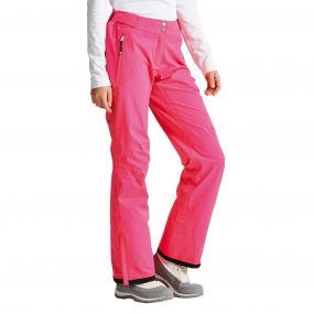 Women's Stand For Ski Pants Cyber Pink