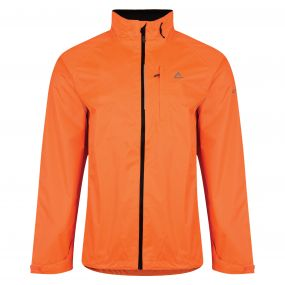Mens Luminous Jacket Fluro Orange