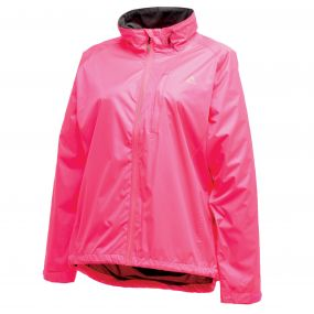 Womens Luminous Jacket Fluro Pink
