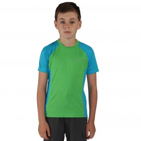 Luminary T-Shirt Fairway Green Blue