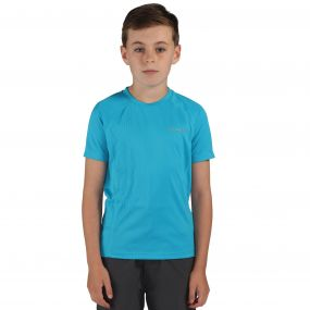 Luminary T-Shirt Fluro Blue