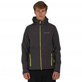 Invoke Softshell Hoody Ebony Grey