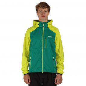 Mobilize Softshell Jacket Green Neon Spring