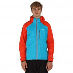Mobilize Softshell Jacket Blue Trail Blaze