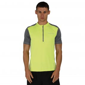 Jeopardy II Jersey Fluro Yellow