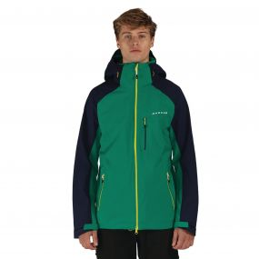 Vigilence II Jacket Green Peacoat Blue