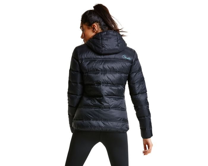 Women's Lowdown Down Fill Insulated Jacket Black | Dare2b
